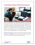 Full stack Digital marketing v/s Full Stack Web Development PowerPoint PPT Presentation