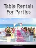 Table Rentals For Parties-converted PowerPoint PPT Presentation