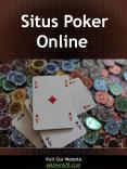 Situs Poker  Online PowerPoint PPT Presentation