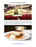 Meson Sevilla - Spanish Restaurant in New York PowerPoint PPT Presentation
