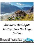 Kinnaur And Spiti Valley Tour Package Online PowerPoint PPT Presentation