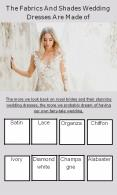 Stunning Bridal Wedding Dress With Fabrics and Shades PowerPoint PPT Presentation