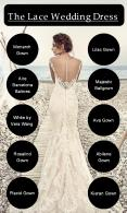 Romantic Lace Bridal Wedding Dress PowerPoint PPT Presentation