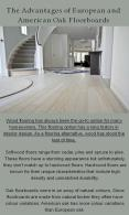 Advantages of European and American Oak Floor PowerPoint PPT Presentation