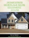HomeXpress Mortgage Bank Statement Loans PowerPoint PPT Presentation