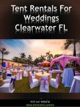 Tent Rentals For Weddings Clearwater FL | Call - 727 308 2138 | shoretents.events PowerPoint PPT Presentation