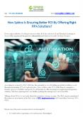 How Sphinx Is Ensuring Better ROI By Offering Right RPA Solutions PowerPoint PPT Presentation