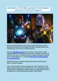 Avengers 4: Pictures Leaked Of Iron Man's Weapon To Defeat Thanos? PowerPoint PPT Presentation