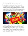 Have you heard the reality of slot game casino Malaysia PowerPoint PPT Presentation