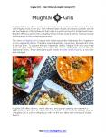 Enjoy Best Indian Food at Mughlai Grill PowerPoint PPT Presentation