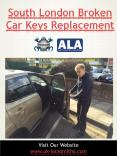 South London broken car keys replacement PowerPoint PPT Presentation
