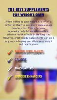 The Best Supplements For Weight Gain PowerPoint PPT Presentation