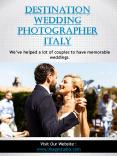 Destination wedding photographer in Italy PowerPoint PPT Presentation