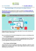 Top 8 Advantages of E-commerce You Need To Know PowerPoint PPT Presentation