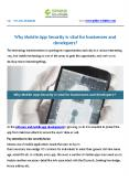Why Mobile App Security is vital for businesses and developers PowerPoint PPT Presentation