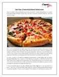 Capri Pizza - A Taste of the Authentic Italian Cuisine PowerPoint PPT Presentation