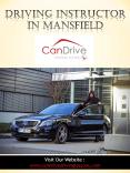 Driving Instructor In Mansfield PowerPoint PPT Presentation