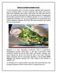 Brief on Ordering Healthy Food PowerPoint PPT Presentation