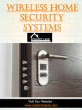 Wireless Home Security Systems PowerPoint PPT Presentation