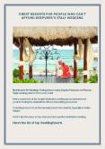 5 Best Resorts For People Who Can't Afford DeepVeer's Italy Wedding PowerPoint PPT Presentation