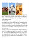 Golden Triangle Tour – Exploring Delhi, Agra and Jaipur Tour Packages PowerPoint PPT Presentation