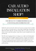 Why Should You Consider Professional Car Audio Installation Rather Than DIY? PowerPoint PPT Presentation
