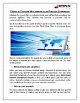 Things to Consider Why Internet is an Everyday Companion PowerPoint PPT Presentation