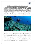 Tips to Take your Diving to the Next Level With Padi Divemaster Training PowerPoint PPT Presentation