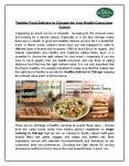 Healthy Food Delivery in Chicago For Your Health-Conscious Guests PowerPoint PPT Presentation