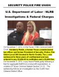 SPFPA Corruption Department of Labor Investigations PowerPoint PPT Presentation
