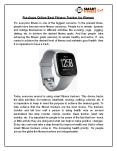 Purchase Online Best Fitness Tracker for Women PowerPoint PPT Presentation