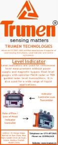 Level Indicator- Trumen Technologies PowerPoint PPT Presentation