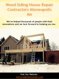 Wood Siding House Repair Contractors Minneapolis PowerPoint PPT Presentation