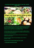 13 Unique And Rare Indian Fruits That Will amaze Your Eyes PowerPoint PPT Presentation