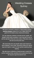 Trend Collections of Wedding Dresses Sydney PowerPoint PPT Presentation