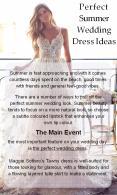 Perfect Summer Wedding Dress Ideas PowerPoint PPT Presentation