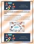 Internet and Digital Marketing Services with a bang PowerPoint PPT Presentation