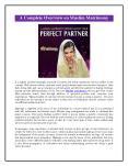 Muslim Matrimony PowerPoint PPT Presentation