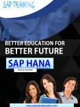 SAP HANA Training in Bangalore PowerPoint PPT Presentation