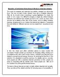 Benefits of Unlimited High-Speed Wireless Internet Ontario PowerPoint PPT Presentation