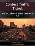 Contest Traffic Ticket PowerPoint PPT Presentation
