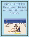 Tips To Find The Best Bondi Beach Accommodation in Sydney PowerPoint PPT Presentation