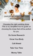 Simplify Shopping For Your Wedding Dress PowerPoint PPT Presentation