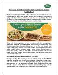 Place your Order from Healthy Delivery Chicago and get healthy food PowerPoint PPT Presentation