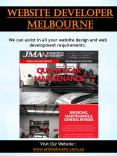 Website Developer Melbourne PowerPoint PPT Presentation