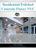 Residential Polished Concrete Floors NYC PowerPoint PPT Presentation