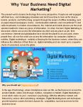 Why Your Business Need Digital Marketing?