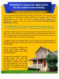Essential to choose the right builder for the custom home building PowerPoint PPT Presentation