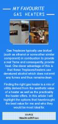 My Favourite Gas Heaters PowerPoint PPT Presentation