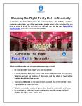 Party Halls in Cleveland Ohio PowerPoint PPT Presentation